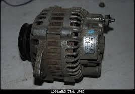 ремонт генератора мазда