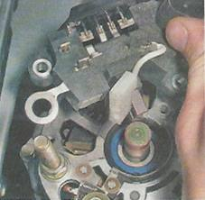 ремонт генератора меган 2