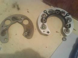 ремонт генератора опель омега